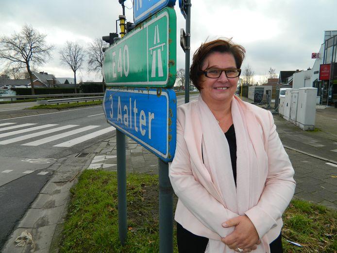 Mieke Vertriest heeft beslist om als onafhankelijk gemeenteraadslid aan politiek te doen in de nieuwe fusiegemeente Aalter.