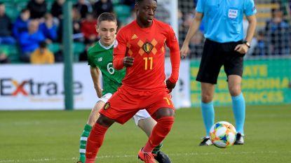 Football Talk België. Belgische U17 mogen zich opmaken voor kwartfinale tegen Nederland na draw tegen Ieren