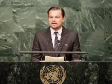 Leonardo DiCaprio steunt klimaatspijbelaars