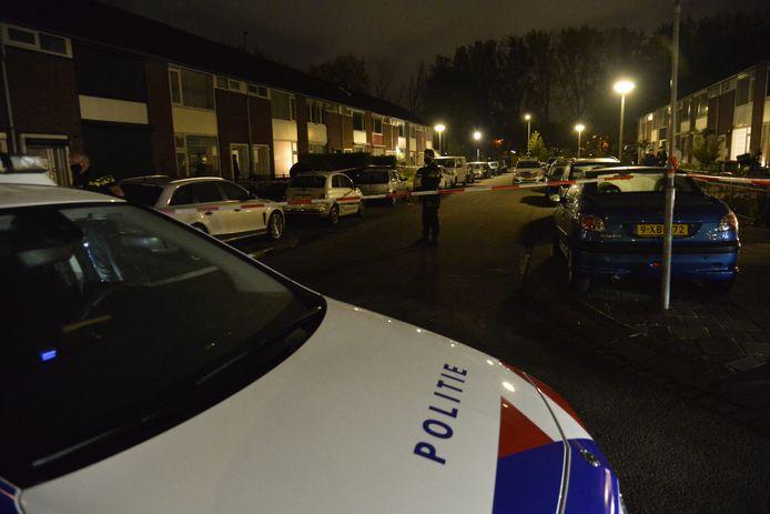 Woning beschoten in Breda.