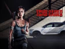 Lara Croft rijdt niet in stoere Land Rover of Jeep, maar in een Volvo