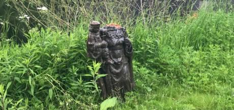 Drenkeling van de Piushaven werd gestolen uit kapelletje in Wagenberg: 'Ik weet zeker dat dit ons verdwenen beeld is'