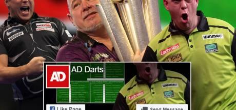 Volg alles over het WK darts via onze nieuwe Facebookpagina