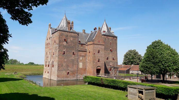 De escaperoom op Slot Loevestein moet komen in de poorttoren: twee verdiepingen en een zolder boven de ingang van het kasteel.