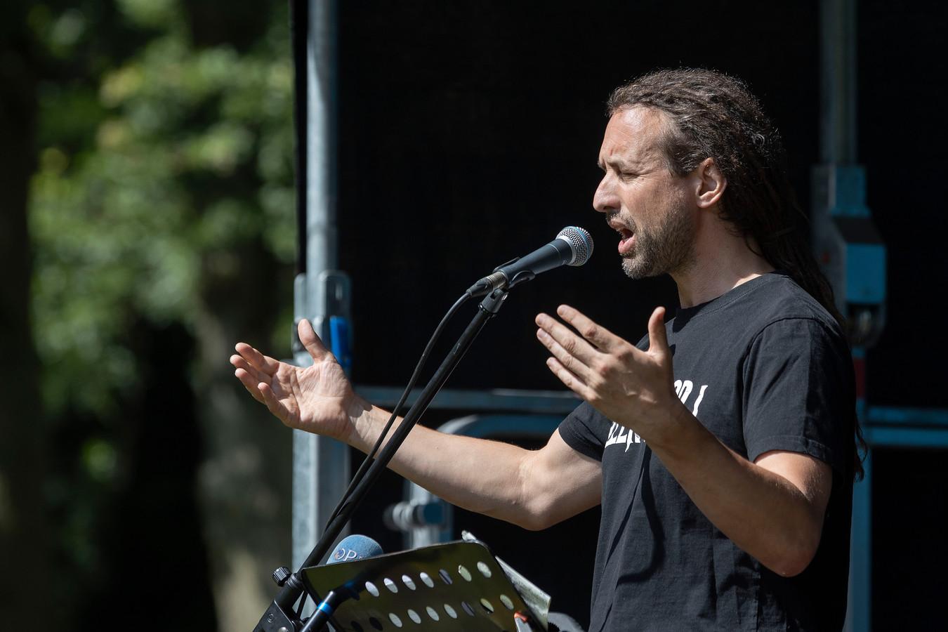 Willem Engel, de Rotterdamse dansleraar en activist.
