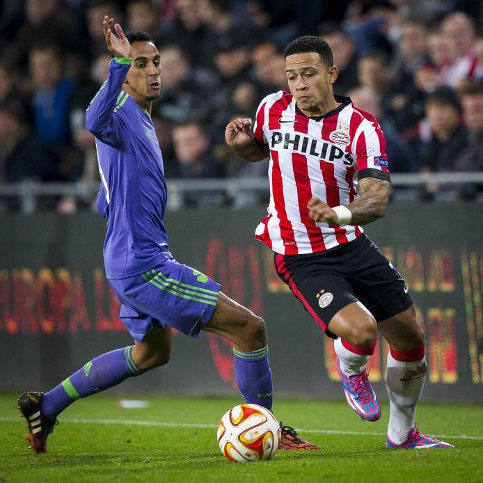 in 2014 won PSV in de groepsfase van de Europa League in Griekenland met 2-3 van Panathinaikos. In Eindhoven werd het 1-1.