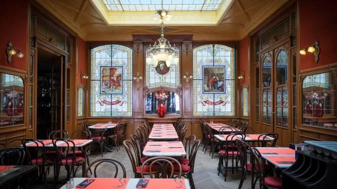 """Brusselse cafés Falstaff en Le Cirio mogen blinkend interieur opnieuw aan klanten tonen: """"Hopelijk snel meer leven in de binnenstad"""""""