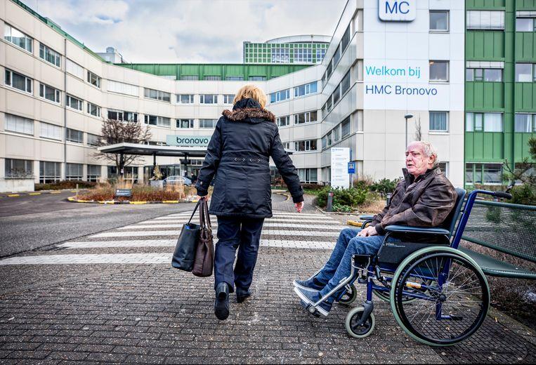 Het Bronovoziekenhuis in Den Haag.  Beeld Foto Raymond Rutting / de Volkskrant