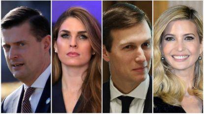Ze waren gouden koppels van Witte Huis, maar na Rob Porter en Hope Hicks lijkt nu ook Jared Kushner greep op macht te verliezen