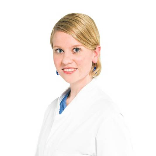 Dermatoloog Merel Hamer