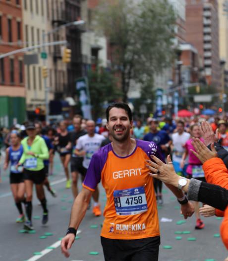 Marathonloper Den Hartog met Hoornaarse klas aan de slag voor Kika