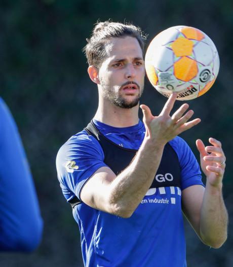 Vertrek Fran Sol nadert: aanvaller ontbreekt op training en lijkt duel met NAC te missen