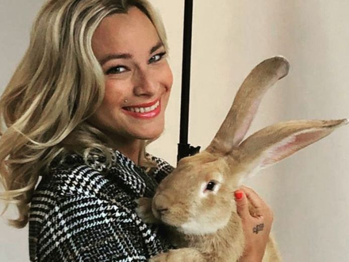 An Lemmens in de bres voor konijnen.