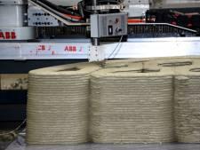 Fietsbrug uit 3D-printer opnieuw drie maanden uitgesteld