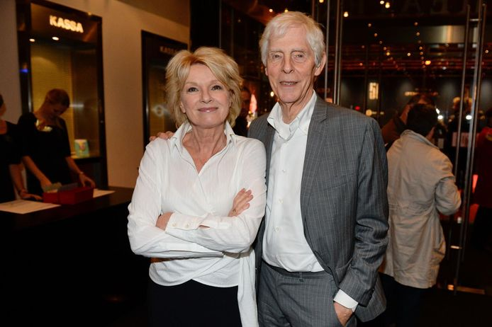 Martine Bijl met partner Berend Boudewijn, eind 2014.