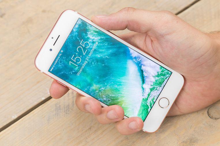 De iPhone 7. Beeld Apple
