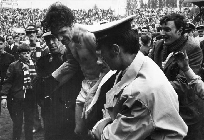 Wilfried Van Moer werd in 1969 kampioen met Standard. Later zou hij ook voor de tweede keer de Gouden Schoen winnen.