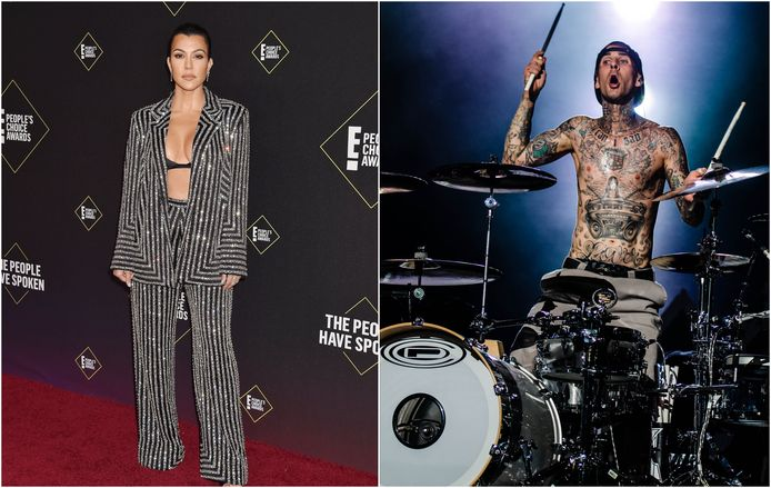 Kourtney Kardashian et Travis Barker