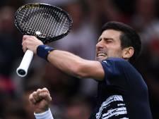 Djokovic voor vijfde keer de beste in Parijs