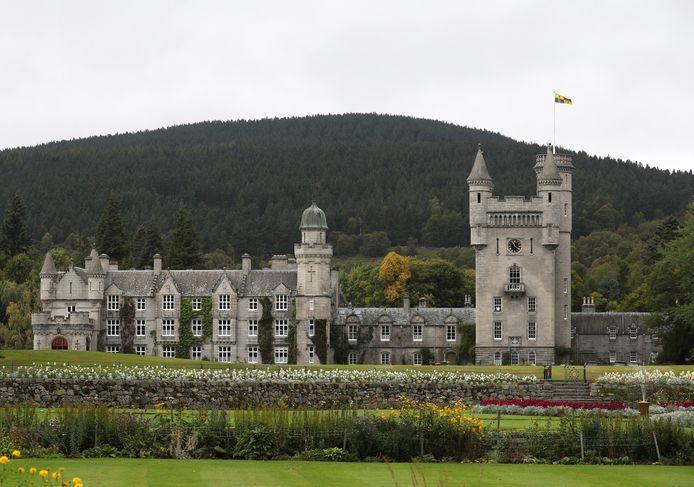 Het Balmoral-kasteel hoe het er nu uitziet.