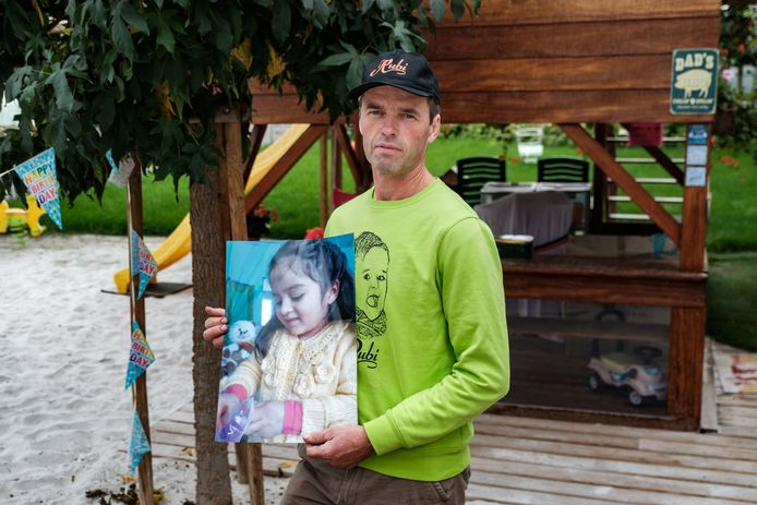 Gert Broeckx, papa van Rubi die door haar mama naar Peru ontvoerd werd.