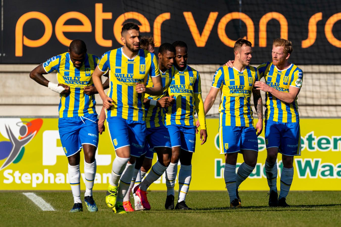 RKC viert de 2-0 van Lennerd Daneels.
