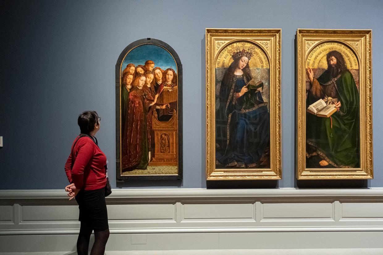 De expo van Van Eyck loopt nog tot eind april in het Museum voor Schone Kunsten in Gent. Beeld Wouter Van Vooren