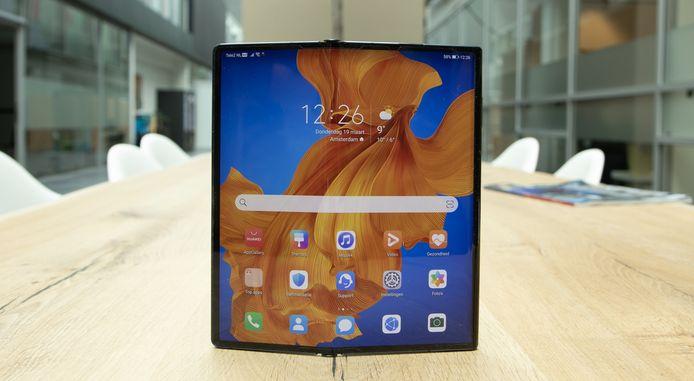 De opvouwbare Huawei Mate Xs.