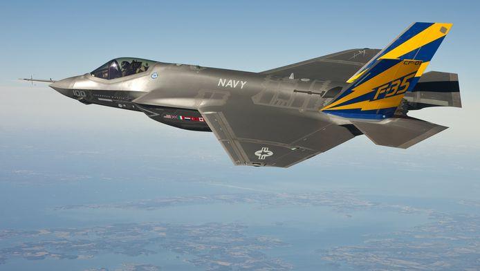 Een F-35C Joint Strike Fighter van de Amerikaanse marine.