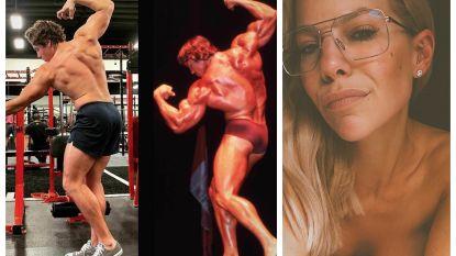 SHOWBITS. Schwarzenegger jr. imiteert iconische pose van papa, Eline neemt je mee naar de slaapkamer