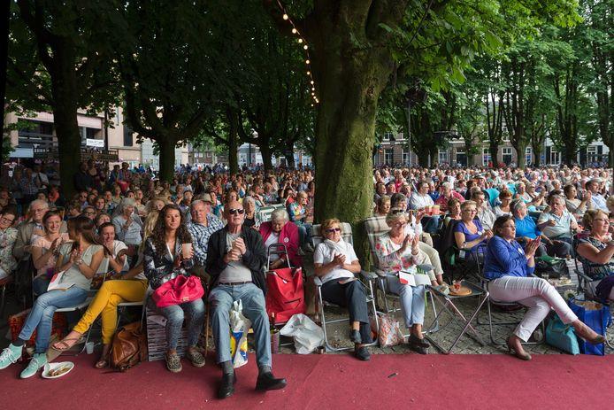 De opera La Traviata van Verdi zorgde vorig jaar voor een volle Parade in Den Bosch.