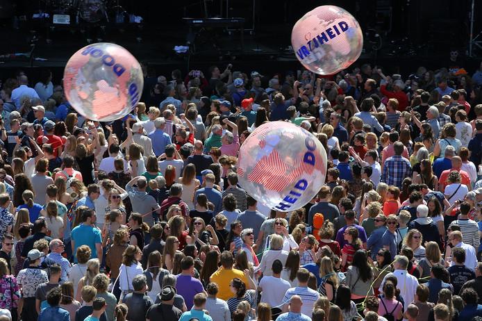 Door het hele land zijn Bevrijdingsfestivals op 5 mei.