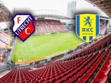 LIVE   FC Utrecht jaagt met Kerk op driepunter tegen RKC