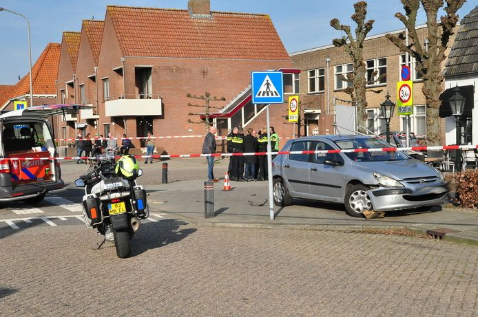 De politie loste maandag bij een arrestatie in Waalwijk waarschuwingsschoten.