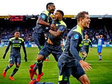 PSV pakt punten die aan de eindstreep beslissend kunnen zijn