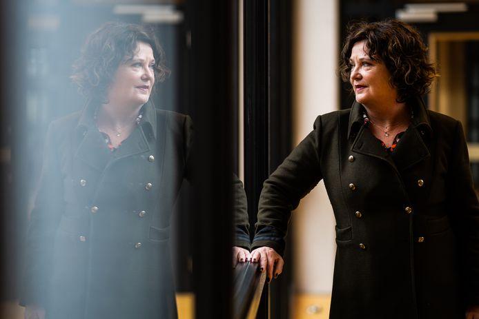 """Hannelore Bruggeman, bestuursvoorzitter bij Scholengemeenschap Veluwezoom. ,,Iedereen doet mee."""""""