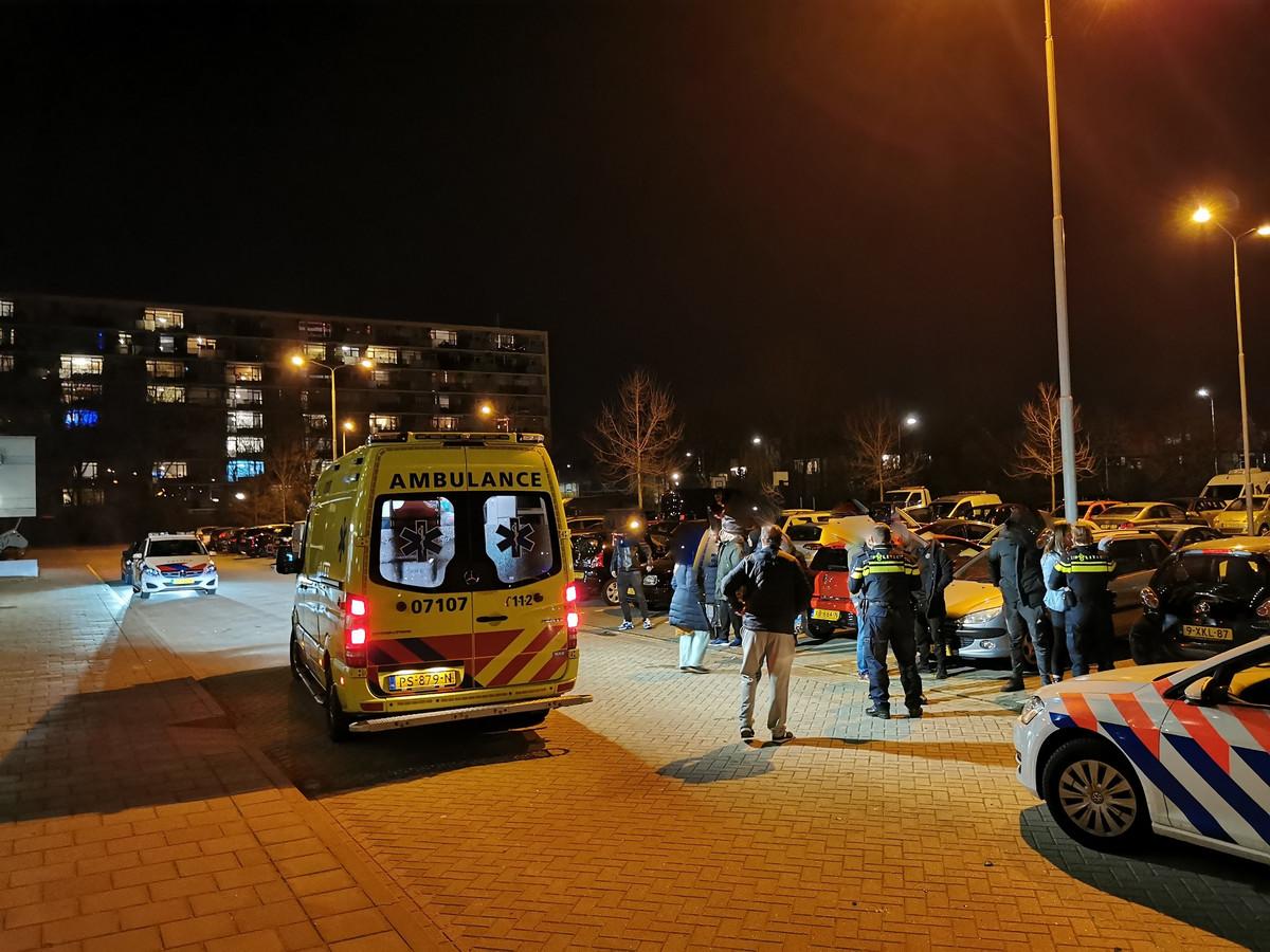 Een persoon moest naar het ziekenhuis na een vermoedelijk opzettelijke aanrijding in Ede.
