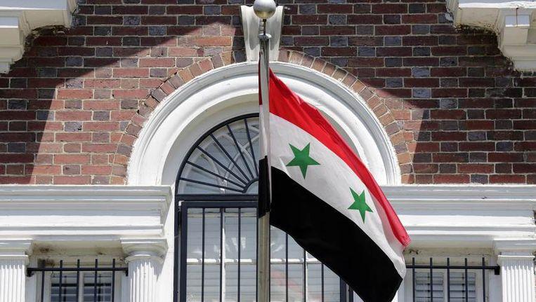 De Syrische ambassade in Washington Beeld reuters