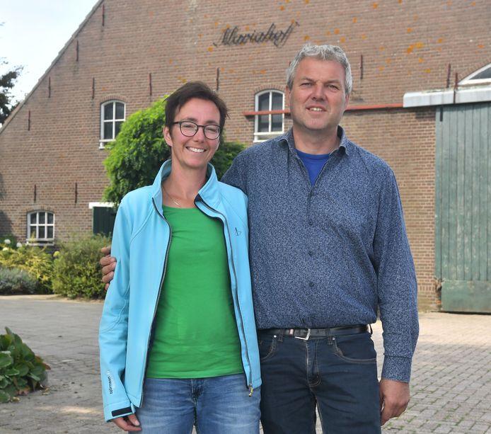 """Rianne en Pieter Abrahamse: ,,Overdag zijn we collega's. Bij het eten zijn we man en vrouw."""""""