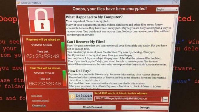 """""""Zeker niet betalen"""": wat je wél moet doen als jouw computer besmet is met ransomware"""