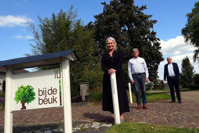 De initiatiefnemers van project 'Josephine': v.l.n.r. Hélène Nijhoff, Willem Dilven en Martin Gloudemans.