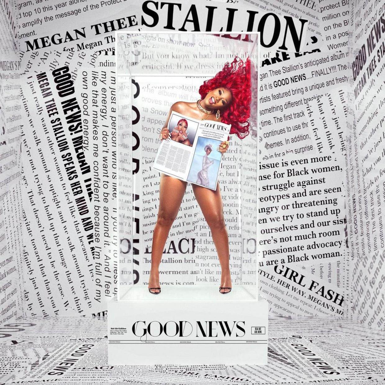 Megan Thee Stallion - Good News Beeld Humo
