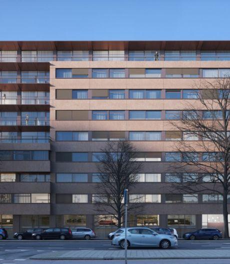 Oud kantoorgebouw omgetoverd tot appartementencomplex, nog volop huurwoningen beschikbaar