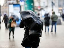 Overlast in de stad door vierde storm in amper twee weken