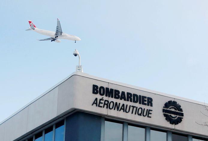 Le siège de Bombardier à Montreal au Québec.
