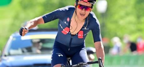 La 5e étape et le maillot jaune pour Richard Carapaz