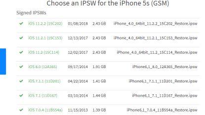 Apple staat downgrade van iOS 11 toe: even maar, feestje alweer voorbij