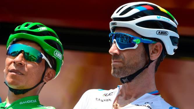 """Twee hanen op een erf? Niets van volgens Valverde en Quintana: """"Eén van ons moet de Vuelta winnen"""""""