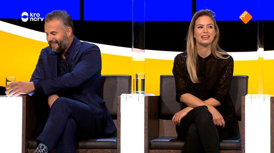 Tijl Beckand en Melissa Drost.