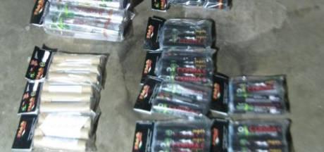 Politie in West-Brabant stuit op 52 kilo illegaal vuurwerk